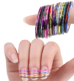 Rolls Striping Tape Line Nail Art Sticker Tools